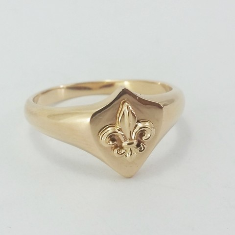 STL file Lily flower ring, Vivalatina