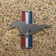 Télécharger objet 3D gratuit Ford Mustang Logo Signalétique, MeesterEduard