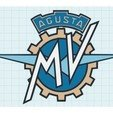 4bfe4d39080351eac66f8d8998b24d3e_preview_featured.jpg Download free STL file MV Agusta Motorcycles Logo Sign • 3D printable object, MeesterEduard