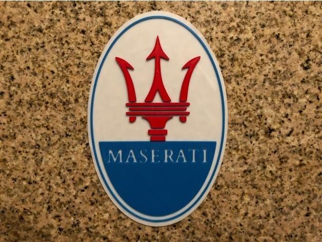 7f110b36bf9042466ca32a91ec86d72c_preview_featured.jpg Download free STL file Maserati Logo Sign • 3D printable design, MeesterEduard