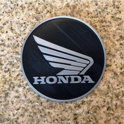 Free 3d model Honda Motorcycles Logo Sign, MeesterEduard