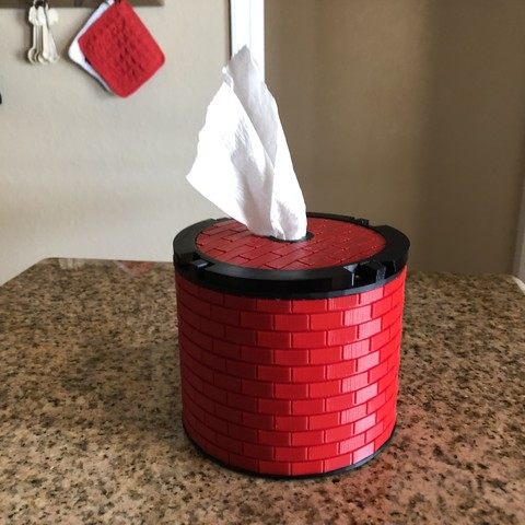 Free 3d printer designs Another TP Tissue Dispenser, MeesterEduard