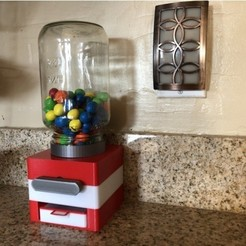 Free stl Easy Print No Support Modular Candy Dispenser, MeesterEduard