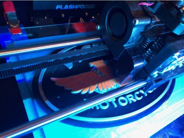 02df74b708383d5123661fac89db2465_preview_featured.jpg Download free STL file Victory Motorcycles Logo Sign • 3D printing model, MeesterEduard