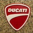Free 3D printer files Ducati Logo Sign, MeesterEduard
