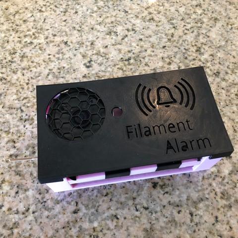 Free STL file Filament Alarm From Solder Practice Kit, MeesterEduard