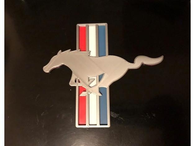 8ea73bfab6369c53805c3c9cf193cf14_preview_featured.jpg Télécharger fichier STL gratuit Ford Mustang Logo Signalétique • Objet pour imprimante 3D, MeesterEduard