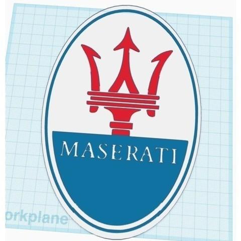 56959747b227a656e66250e32cbcb68c_preview_featured.jpg Download free STL file Maserati Logo Sign • 3D printable design, MeesterEduard