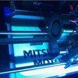 Fichier 3D gratuit Mitsubishi Motors Logo Signalétique, MeesterEduard