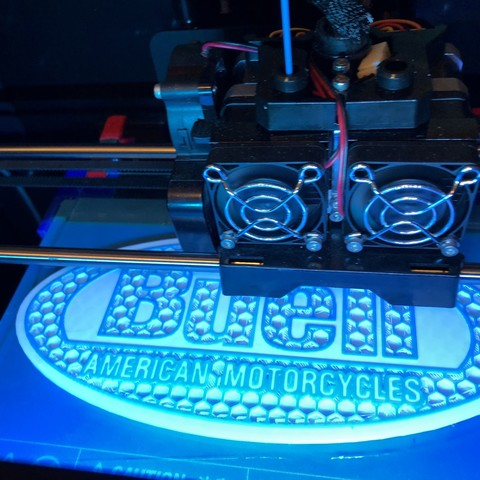 IMG_1823.jpg Download free STL file Buell American Motorcycles Logo Sign • 3D printing model, MeesterEduard