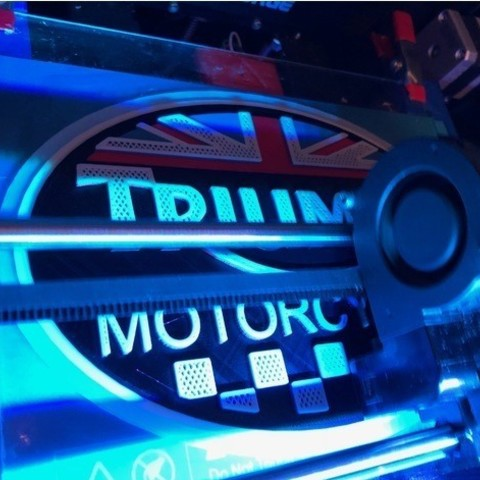 edc9e5976dc787131c0c864be1202e77_preview_featured.jpg Download free STL file Triumph Motorcycles Logo Sign • 3D print object, MeesterEduard