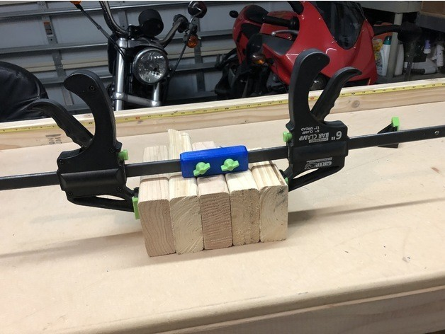 0f1d55593797ba85fe2d3990ad2060a0_preview_featured.jpg Download free STL file Bar Clamp Coupler • Model to 3D print, MeesterEduard