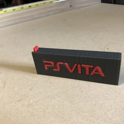 Download free 3D printer model PS Vita Cartridge Holder, MeesterEduard