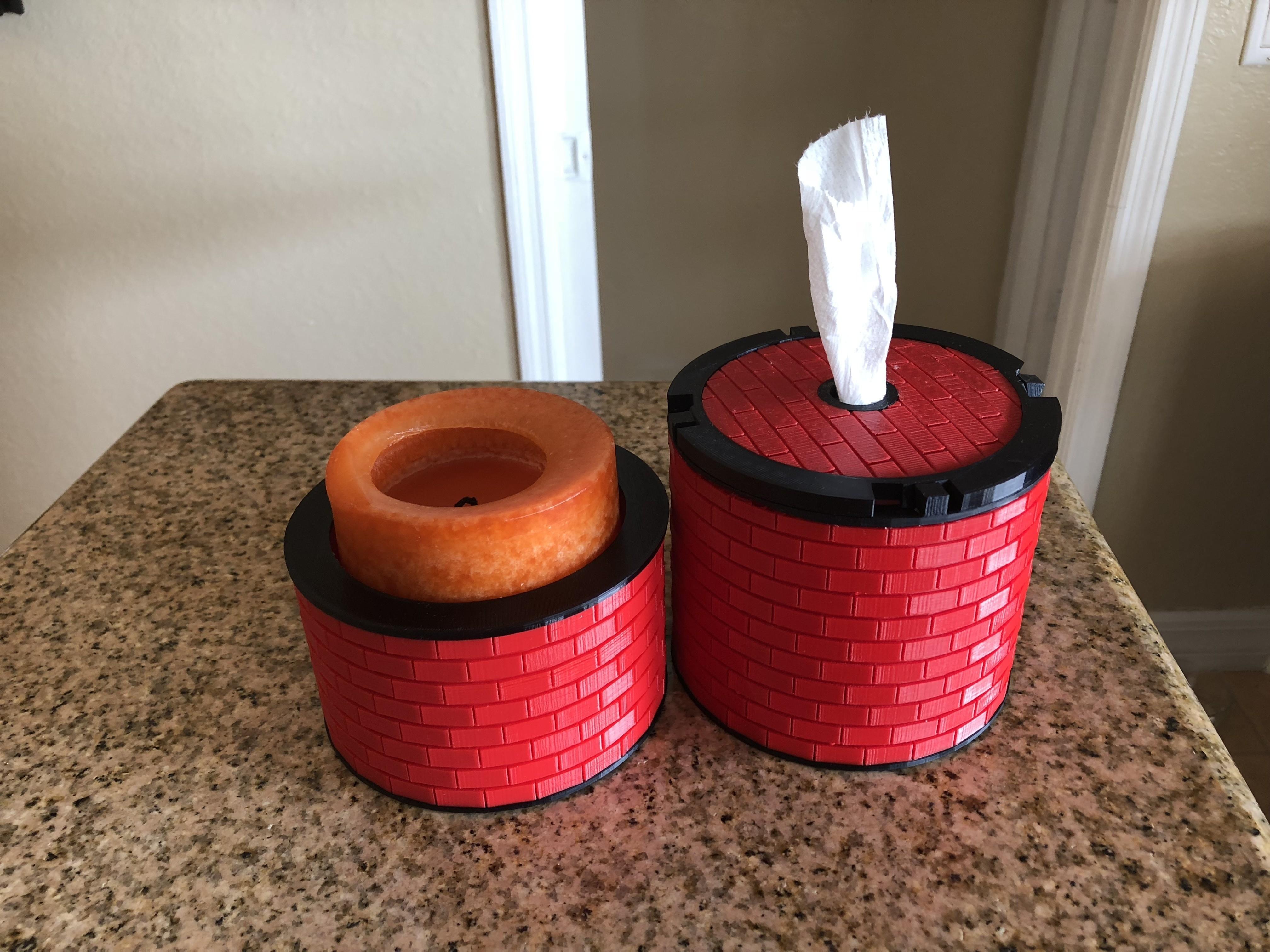 IMG_1852.jpg Download free STL file Brick Pattern Bowl • 3D printable template, MeesterEduard