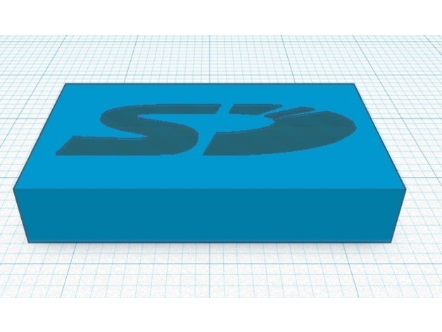 7b9fd11ac398a3794a4093adc8c10e5c_preview_featured.jpg Download free STL file SD Card Cap for Flash Forge Creator Pro • Template to 3D print, MeesterEduard