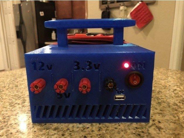 51a7d206c18e54d75c889ef7bbd638f6_preview_featured.jpg Download free STL file ATX Bench Power Supply w Cord Storage • 3D printable model, MeesterEduard