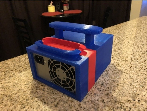 c96b28fd0f68631d154b642e83d99ebd_preview_featured.jpg Download free STL file ATX Bench Power Supply w Cord Storage • 3D printable model, MeesterEduard