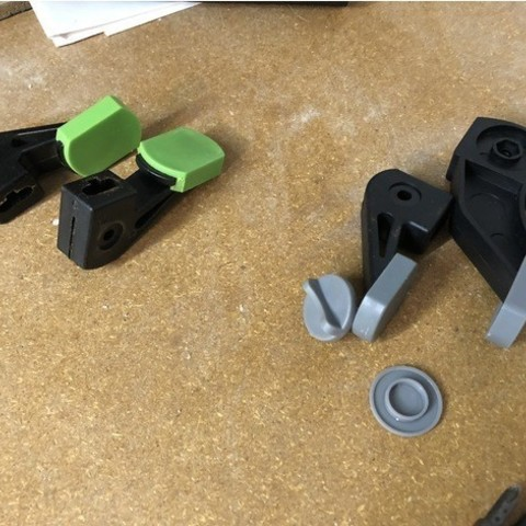 bfc78a8031cfc750ae610c72b5eb1bc7_preview_featured.jpg Download free STL file Bar Clamp Coupler • Model to 3D print, MeesterEduard