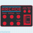 Download free STL Arcade Machine Directions Card, MeesterEduard