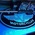 Download free 3D printing models Victory Motorcycles Logo Sign, MeesterEduard