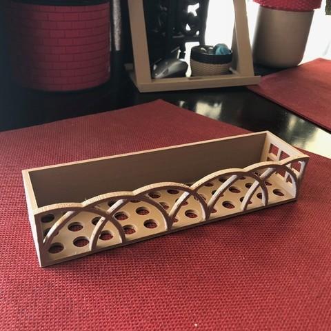 Télécharger plan imprimante 3D gatuit Étagère à épices par jopoma remixed, MeesterEduard