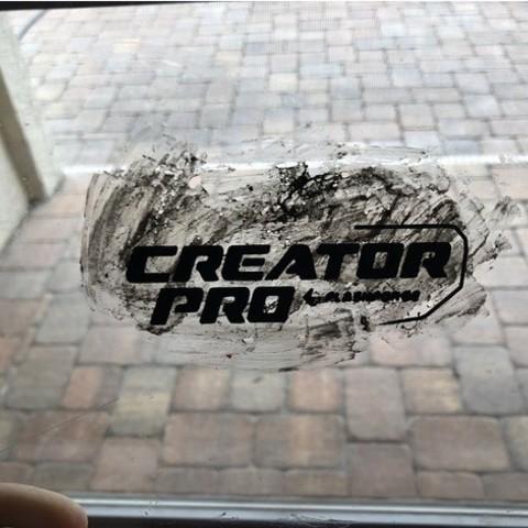 Free STL FlashForge Creator Pro Logo, MeesterEduard