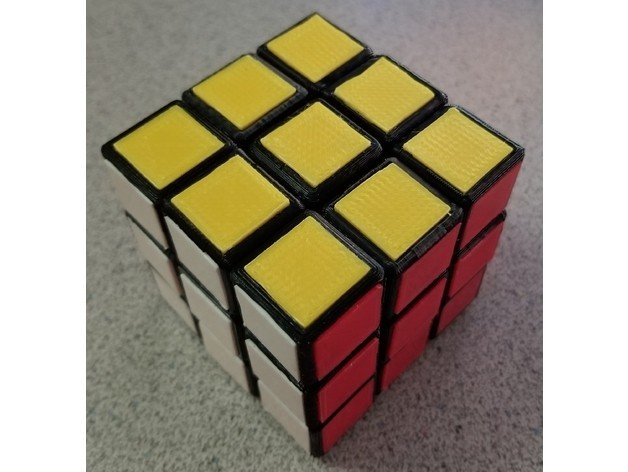 0d99abc2961fc8a9b6d36775fa942afe_preview_featured.jpg Download free STL file Rubik's Cube Remixed • 3D printable design, lowboydrvr
