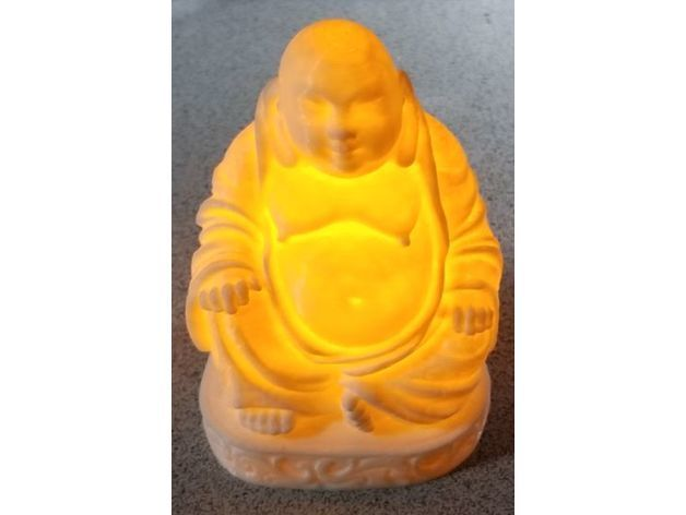 f65ef201f0df17c15afc661ae0ad3d64_preview_featured.jpg Download free STL file Remix of Buddha Night Light • 3D printing template, lowboydrvr