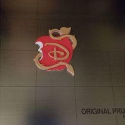 Free stl file Descendants Apple Logo (3 colors), lowboydrvr