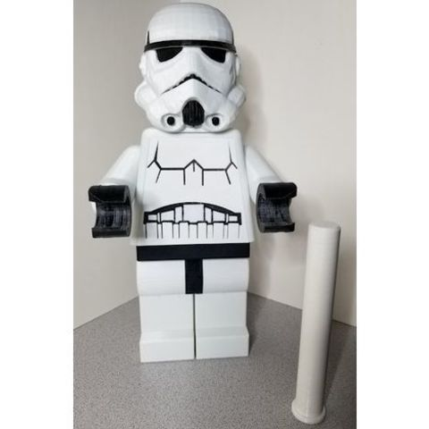 Free 3d printer model Lego Stormtrooper TP Roll Holder, lowboydrvr