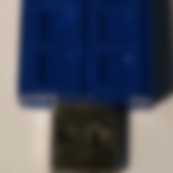 Free 3d print files Tardis - USB Front Cover, lowboydrvr
