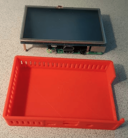 Capture d'écran 2018-03-20 à 17.28.58.png Download free STL file Pi 3 Case for 5 Inch Touch screen • 3D printer model, lowboydrvr