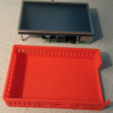 Free stl Pi 3 Case for 5 Inch Touch screen, lowboydrvr