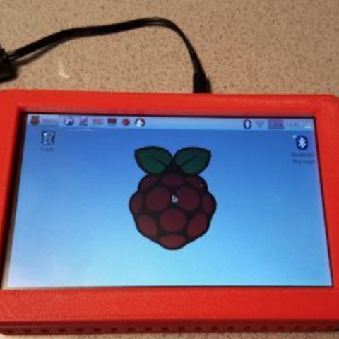 Capture d'écran 2018-03-20 à 17.29.03.png Download free STL file Pi 3 Case for 5 Inch Touch screen • 3D printer model, lowboydrvr