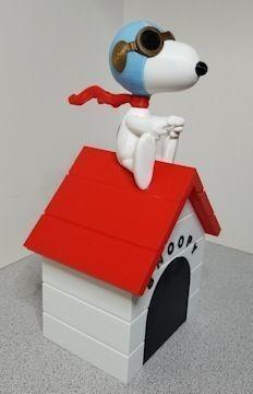 efb554833f332511025b905998de281b_display_large.jpg Download free STL file Snoopy vs Red Baron Bank (Compilation/remix) • 3D print template, lowboydrvr