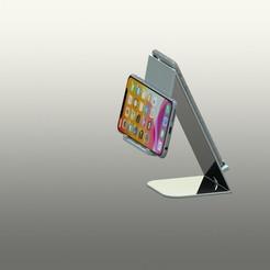 Télécharger fichier impression 3D gratuit Support téléphone, Totodubotelho
