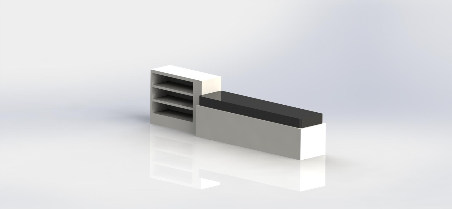 Untitled.JPG Télécharger fichier STL gratuit Banquette • Plan pour imprimante 3D, Totodubotelho