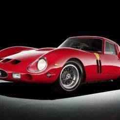 Télécharger fichier imprimante 3D Ferrari Classique 250 GTO (Série I) 1962, FacaDesign
