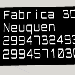 Download free 3D printing files Fábrica 3D, fabrica3d