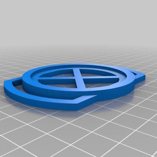 Download free 3D printing designs 52 tapa lente Cap Holder, fabrica3d