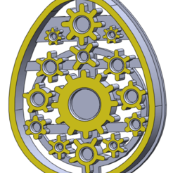 mecanoegg.png Download STL file Cookie cutter mecanoegg • 3D printable model, enkylock