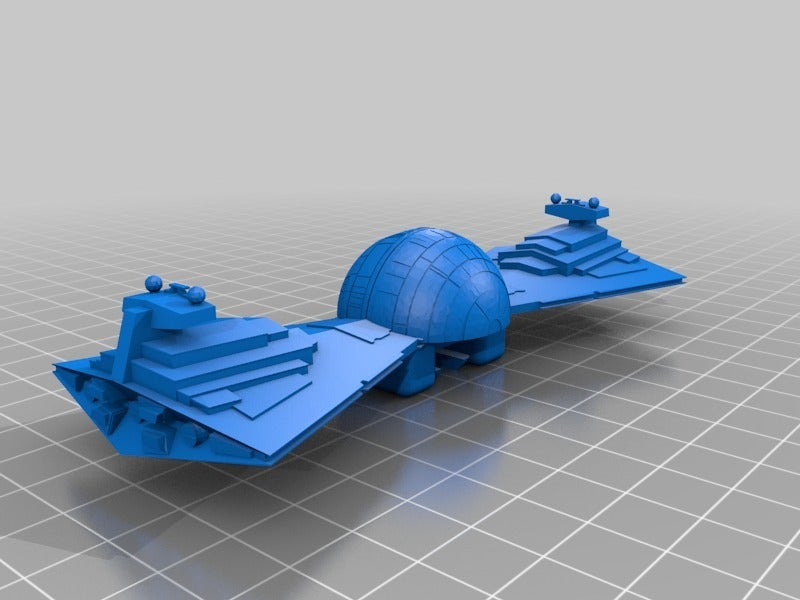 15419ea640a09e6ac6d7373f2c569a60.png Download free STL file Death Star Destroyer Bow Tie • 3D printer template, 3DPrintDad