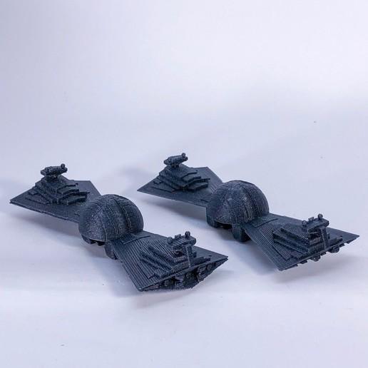 IMG_3067.jpg Télécharger fichier STL gratuit Cravate de proue du destroyer de l'Étoile de la mort • Modèle pour imprimante 3D, 3DPrintDad