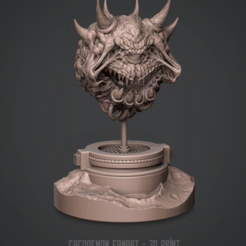 Download 3D printing designs CacoDemon 3D Print model 3D print model, KingJeffolo