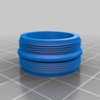 Download free SCAD file Amscope to camera module adapter • 3D printing design, doegox