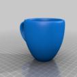 Download free 3D printer files Floating Cup Sculpture: DLP remix, doegox