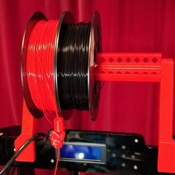 Download free SCAD file Anet A8 giant spool holder • 3D printing design, doegox