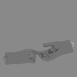 Télécharger fichier STL gratuit col mano(#ANYCUBIC3D) • Modèle imprimable en 3D, lidiapg075