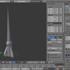 Download 3D printing designs Low poly game ready rocket, Puf