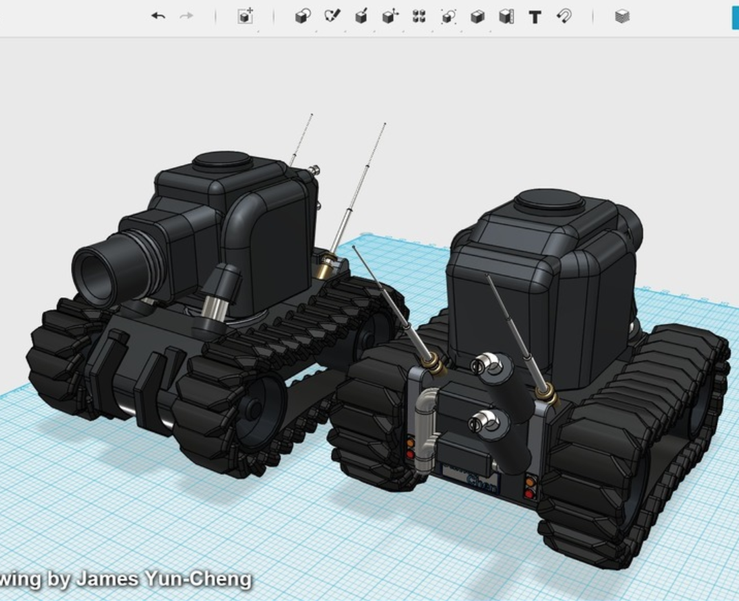 Capture d'écran 2018-01-17 à 14.22.17.png Download free STL file Light Armor Tank • Object to 3D print, cycstudio
